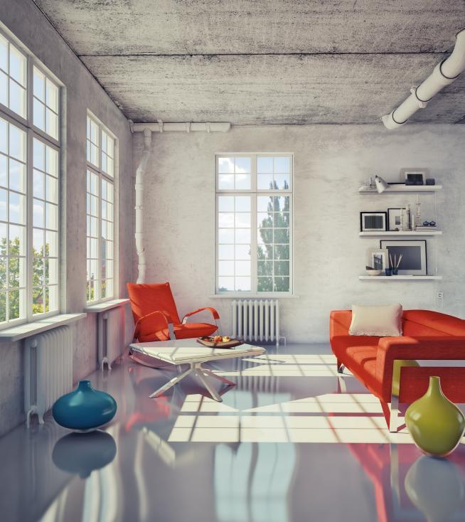 Fabulous Industrieboden im Wohnbereich » Was ist dabei zu beachten? GK52