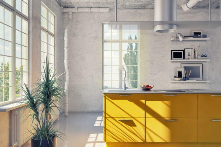 Industrieboden und Wohnklima