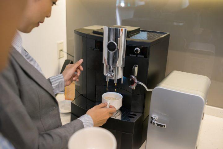 Jura Kaffeemaschine professionelle Reinigung
