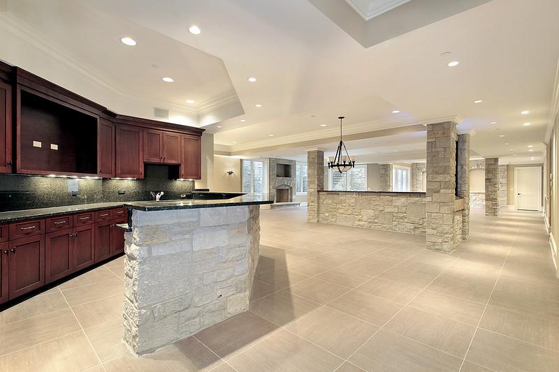 Küchen vor und nach dem Abnehmen renoviert