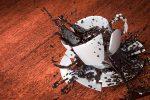 Kaffeeflecken von der Wand entfernen
