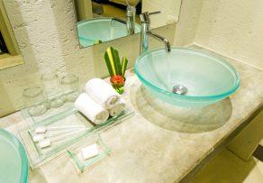Kalkmarmorputz Badezimmer
