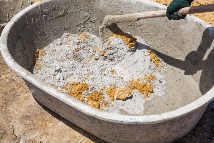 Kalk Zement Mörtel