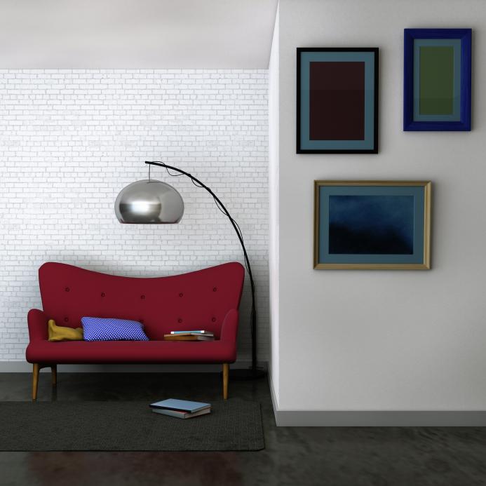 kalksandstein streichen anleitung in 3 schritten. Black Bedroom Furniture Sets. Home Design Ideas