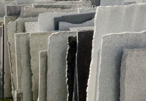 Sandsteinplatten aus Kalk