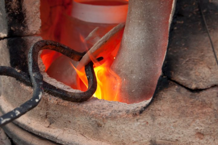 Keramik brennen