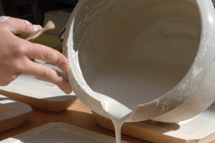 Keramik gießen