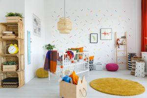 Kinderzimmer Wände streichen