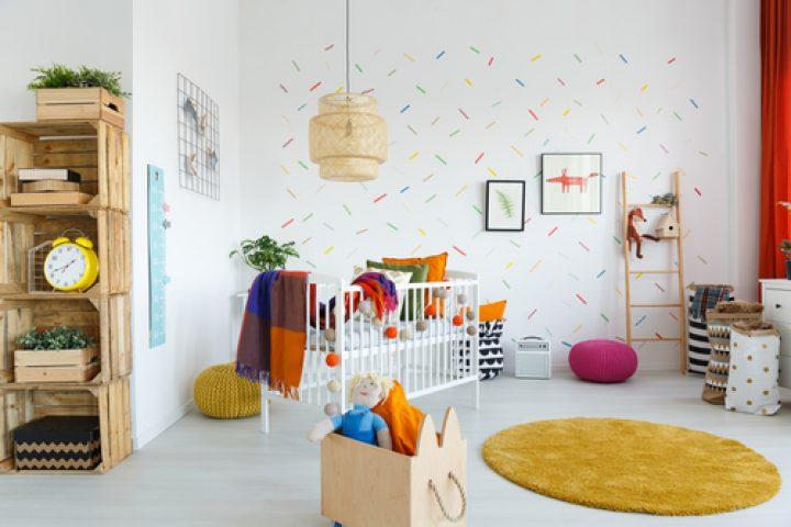 Kinderzimmer-Wände streichen » Ideen zur Gestaltung