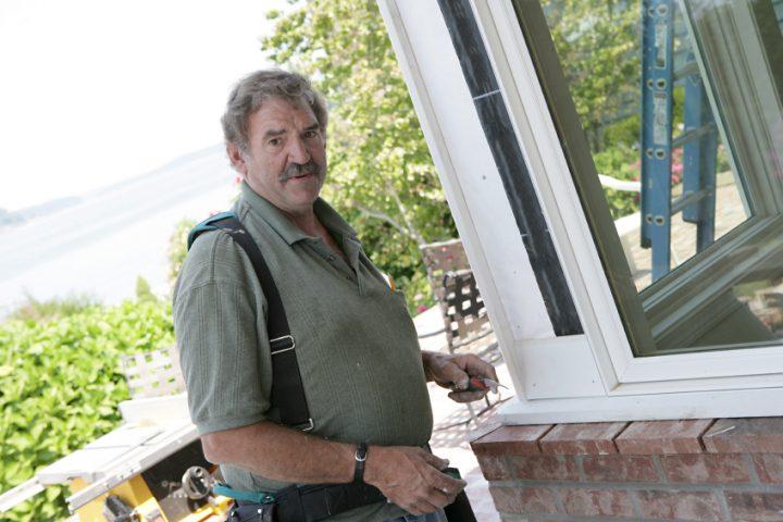 Kippfenster aushängen