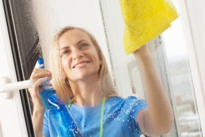 Kippfenster putzen