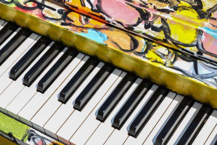 Klavier lackieren