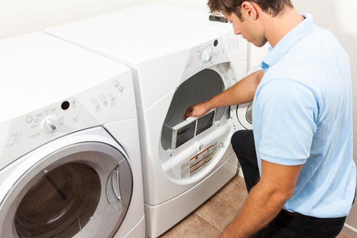 Kondenstrockner reinigen » reinigungsarbeiten