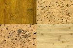 Korkboden Holzoptik