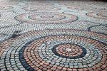 Kreisförmiges Pflaster
