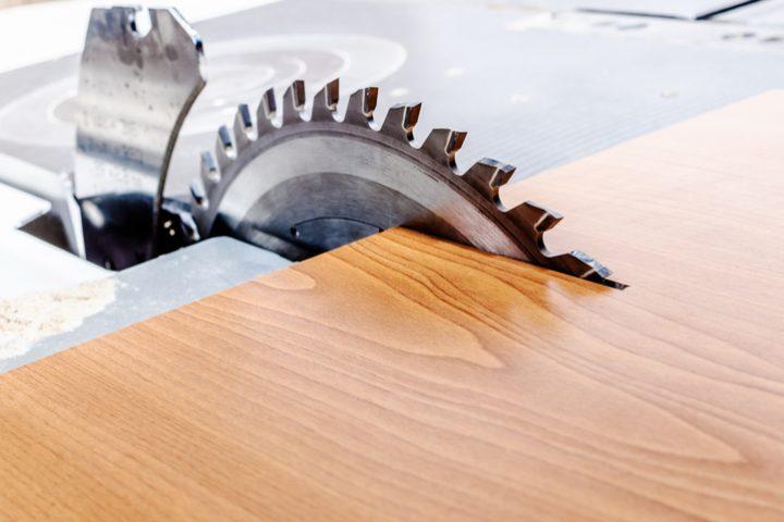 Tischkreissäge oder Kappsäge