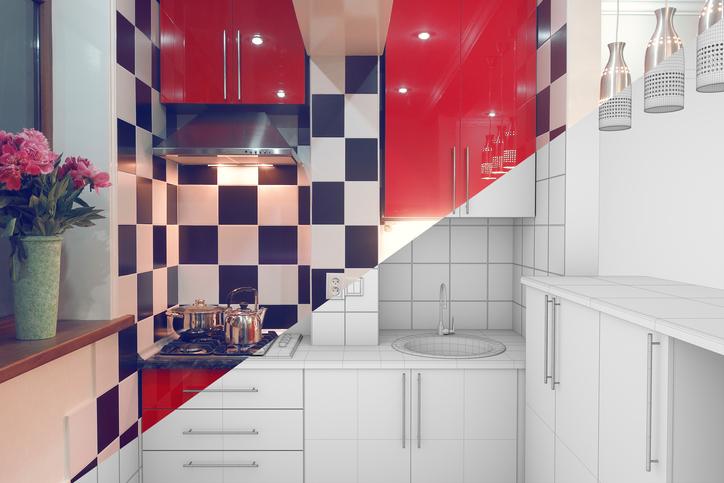 Küche bekleben » So schaffen Sie tolle Effekte
