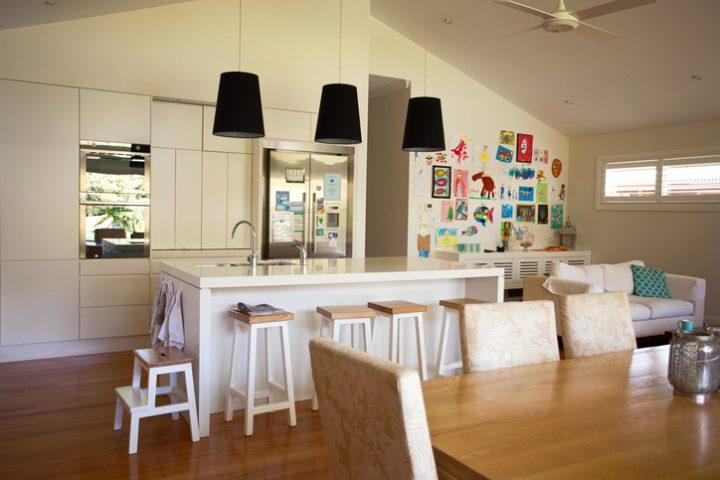 Küche von Wohnzimmer trennen