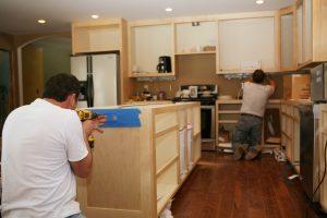 Küche installieren