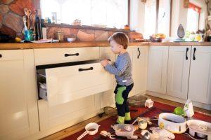 Küche Ordnung schaffen