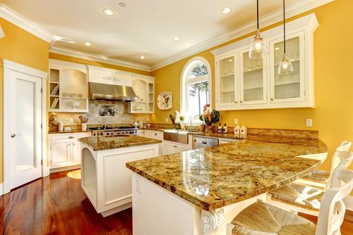 Küche Gelb Streichen » So Sorgen Sie Für Ein Warmes Ambiente