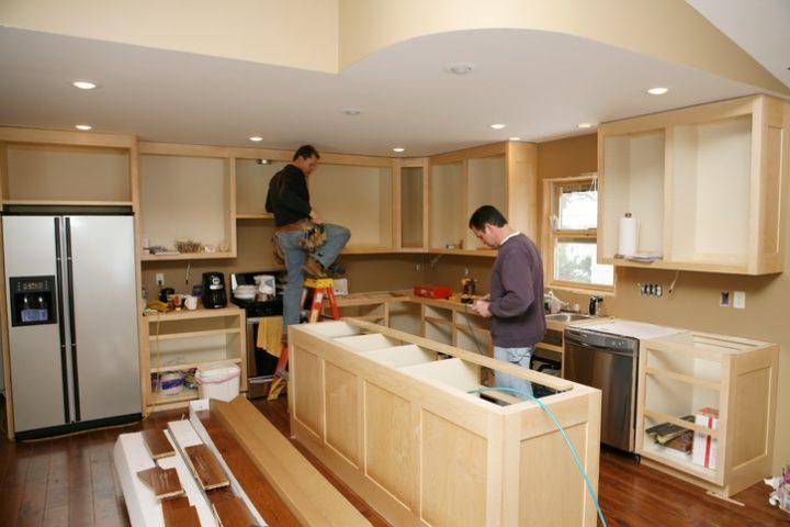 Küche einbauen