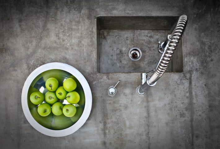Küchenarbeitsplatten preise  Küchenarbeitsplatte aus Beton » Diese Preise erwarten Sie
