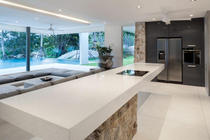 Küchenarbeitsplatte Stärke
