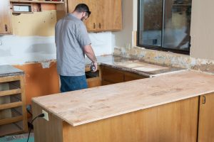 Küchenarbeitsplatte wie hoch