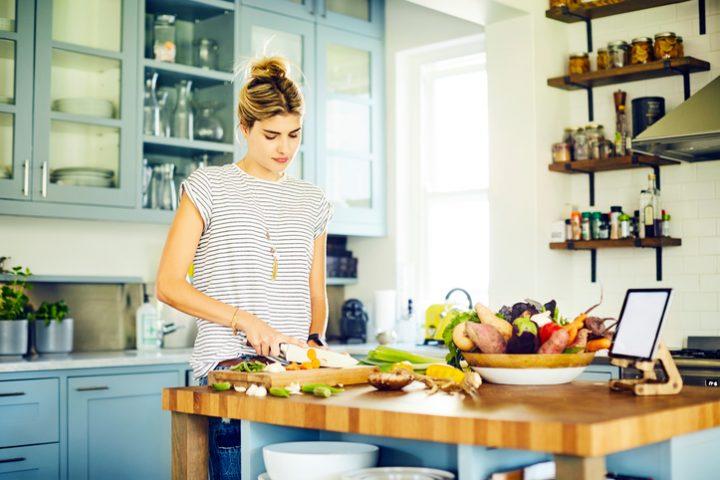 Küchenarbeitsplatte Ergonomie