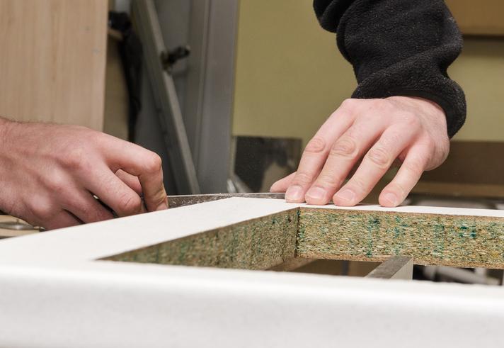 K chenarbeitsplatte demontieren so geht es ganz einfach for Kuchenarbeitsplatte erneuern