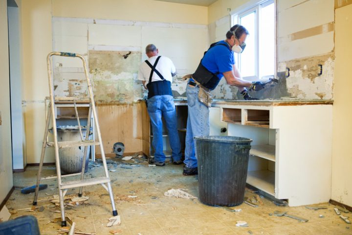 Küchenarbeitsplatte erneuern
