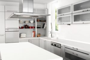 Küchenarbeitsplatte folieren