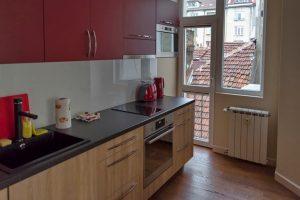 Küchenfront Folie geht ab
