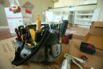 Küchenfronten beschädigt