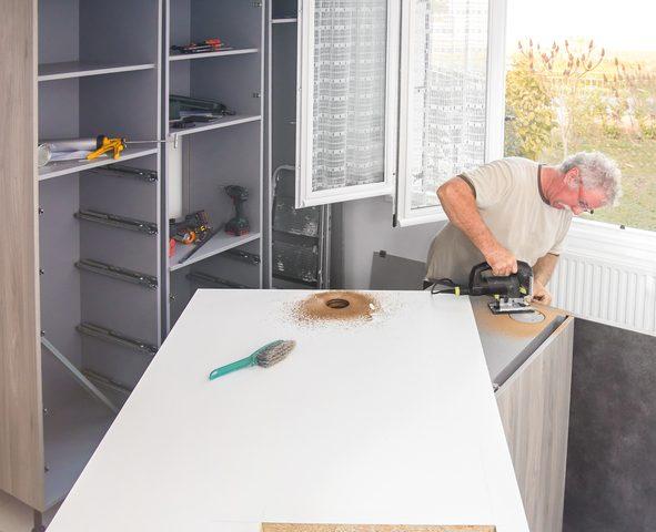 Kücheninsel selber bauen » So geht\'s mit Ytong