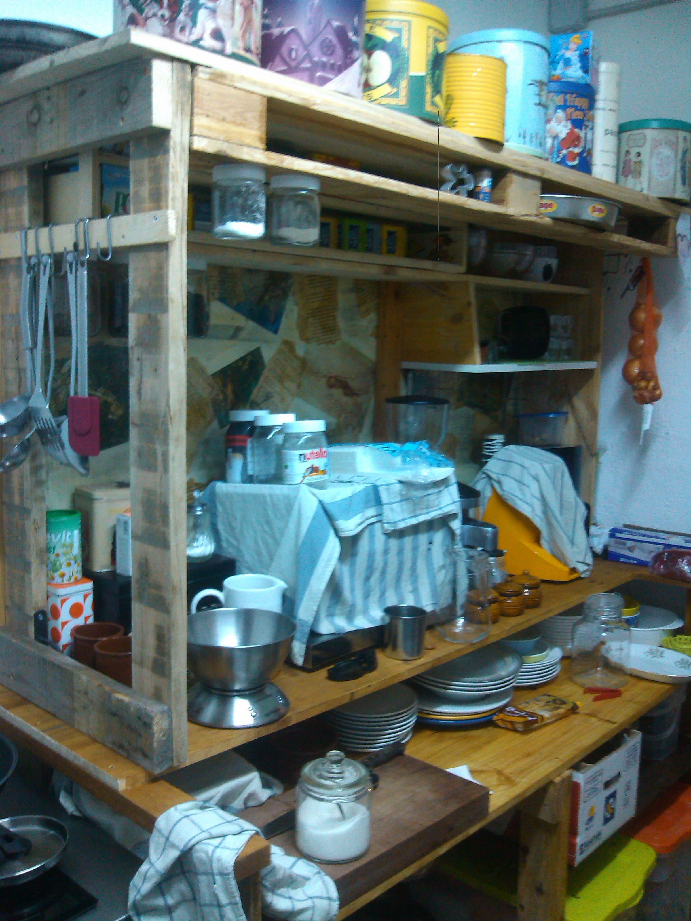 Küchenmöbel aus Paletten » So bauen Sie sie selber