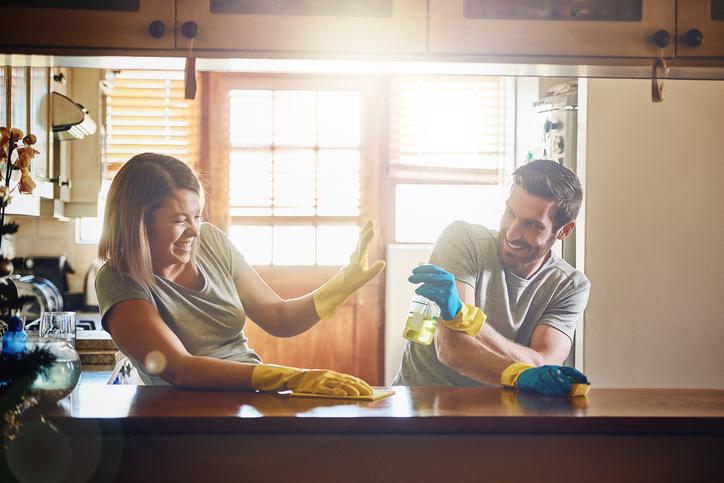 Küchenmöbel reinigen so werden sie richtig sauber
