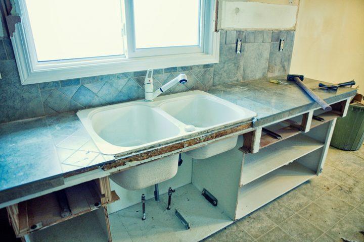 Küchenmöbel restaurieren
