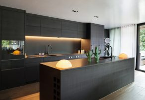 k chenr ckwand mit led selber bauen so geht 39 s. Black Bedroom Furniture Sets. Home Design Ideas