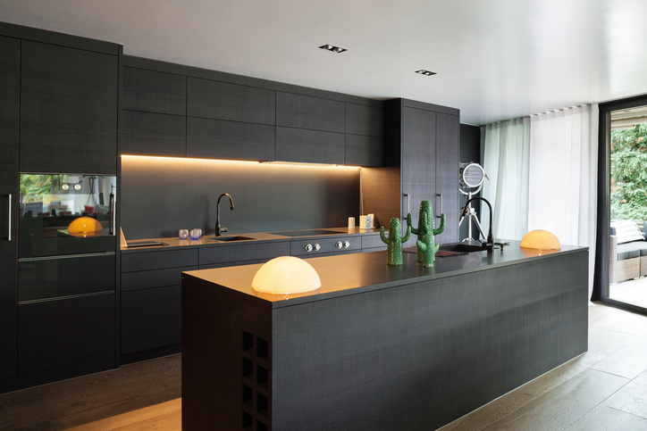 kuchenruckwand holz kuchenspiegel tipps, küchenrückwand mit led selber bauen » so geht's, Design ideen