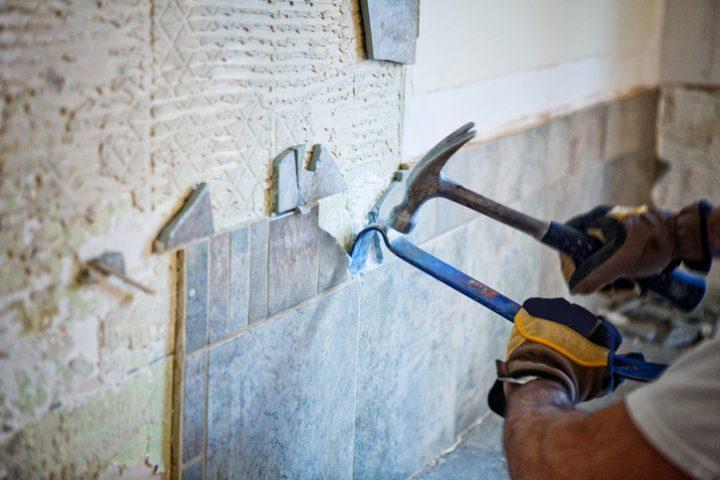 Küchenrückwand  Küchenrückwand entfernen » So wird's gemacht