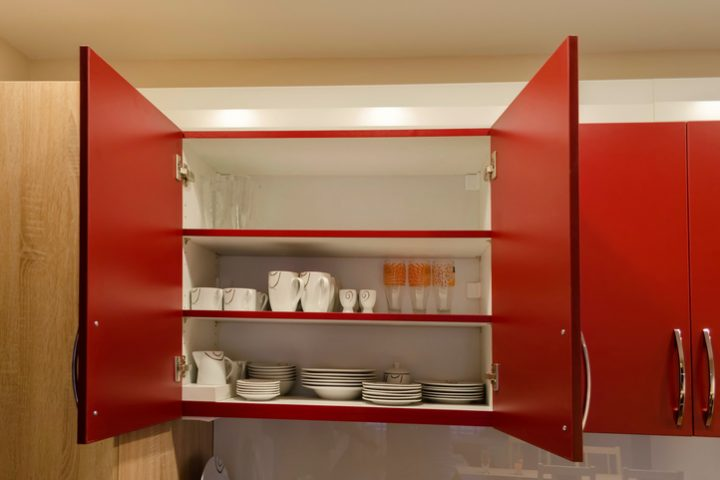 Küchenschränke organisieren