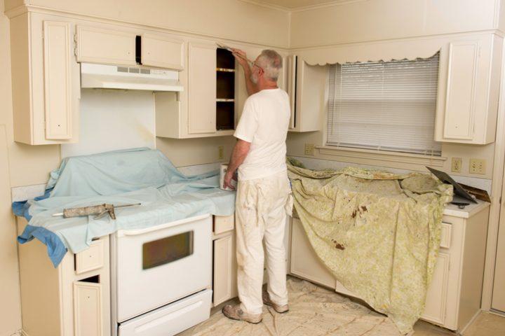 Küchenschränke Restauration