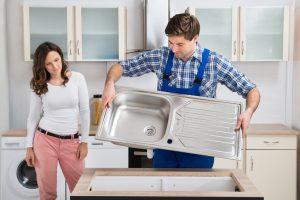 Küchenspüle wechseln