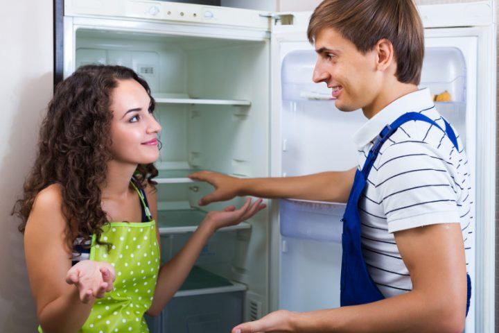 Kühlschrank abdichten
