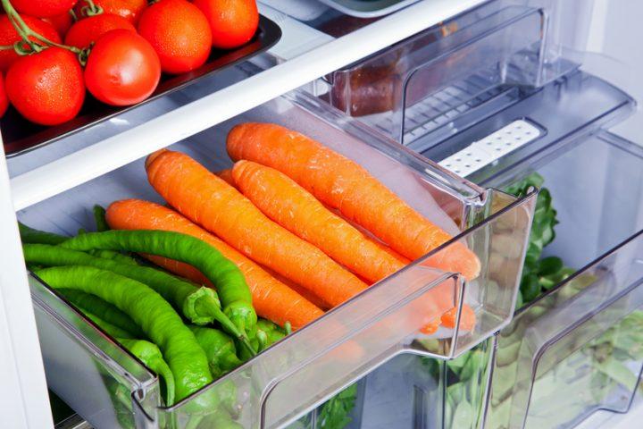 Kühlschrank Gemüsefach