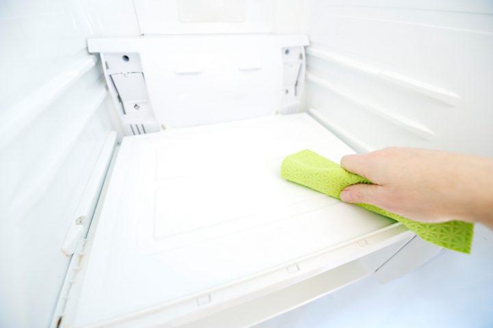 Kühlschrank nass