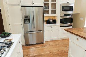 Fußbodenheizung unter Kühlschrank