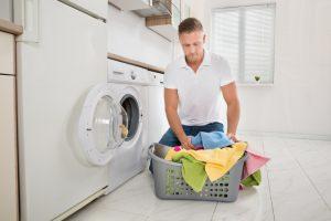 Waschmaschine und Kühlschrank